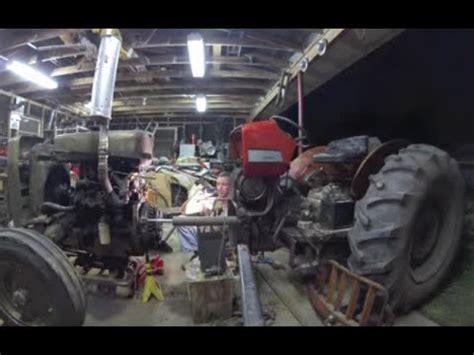 breaking  tractor   clutch repair youtube