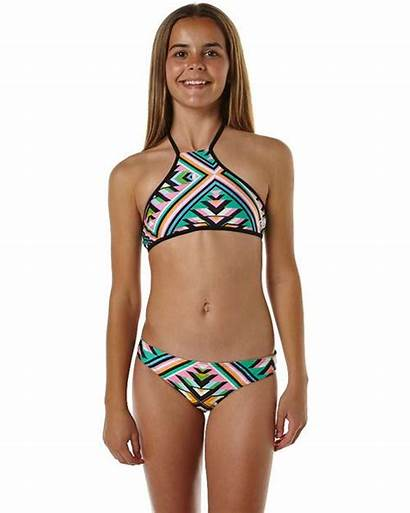 Bikini Swimwear Halter Teens Rip Curl Bikinis