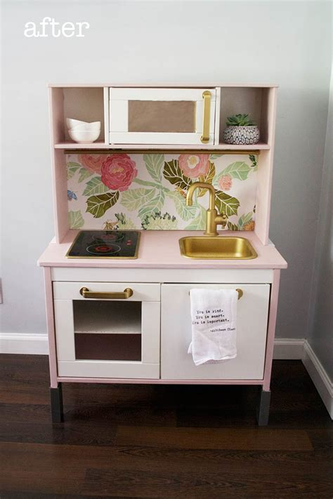 ikea kitchen makeover easy ikea duktig play kitchen makeover food 1791