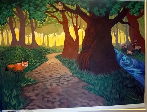 Kinderzimmer Wandgestaltung Wald by Pictures Of Whimsical Forests Whimsical Forest Mural