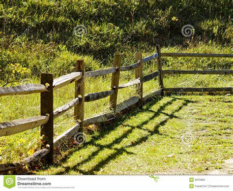 wooden fence stock image image  wood fence