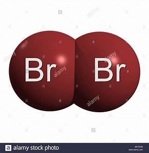 Bromine Molecule Br2 Stock Photo  29433397