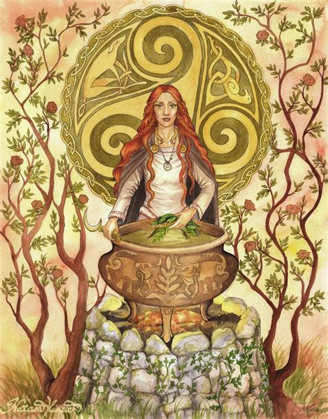 Ceridwen by UnripeHamadryad on deviantART   Celtic goddess ...