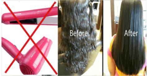 awesome idea   straighten hair overnight completely
