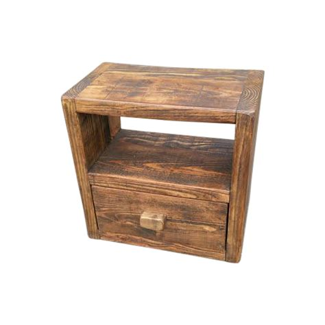 reclaimed dining table the jupiter rustic bedside ely rustic furniture