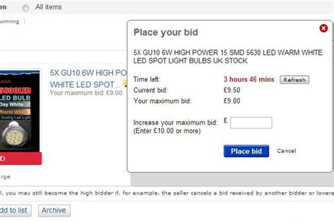 Ebay Bid by How To Win On Ebay Every Time Bt