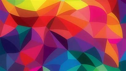 Pattern Abstract Rainbow Colors 2160 1080 2560