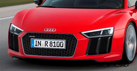 2016 Audi R8 V10 And R8 V10 Plus