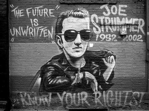 joe strummer mural mural dedicated to joe strummer of
