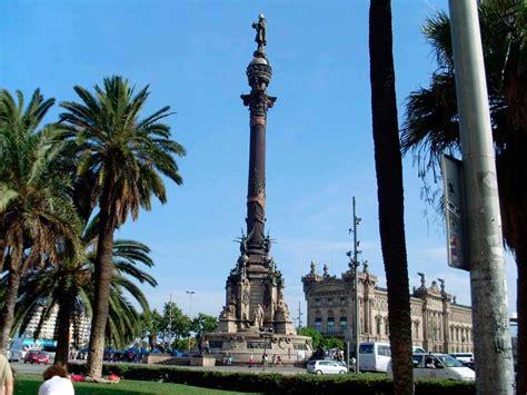 visiter barcelone colonne de christophe colomb