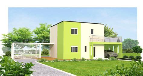 modele facade maison moderne kirafes