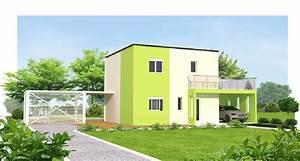 modele maison moderne modele facade maison moderne 28 With plan maison moderne 3d 10 plans de maison en 3d les entreprises lachance