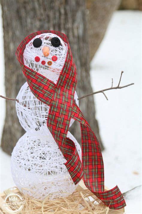 diy snowman craft ideas tutorials
