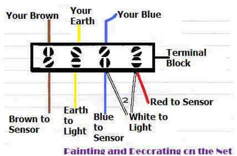 wiring diagram free sle detail sensor light wiring