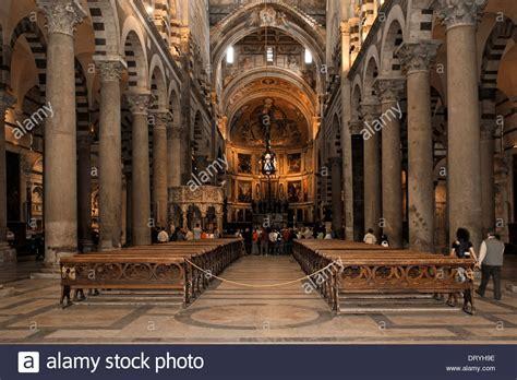 Interno Duomo Di Pisa by Interno Duomo Di Pisa Navata Centrale Foto Immagine