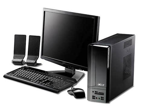 pc bureau acer aspire acer aspire x1200 desktop pc announced ecoustics com