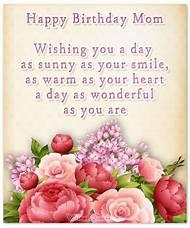 Happy Birthday Wishes Mom