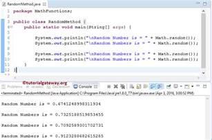 java random number generator