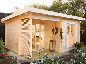 Gartenhaus Mit Aufbauservice : modernes gartenhaus laura 44 mit pultdach ~ Whattoseeinmadrid.com Haus und Dekorationen