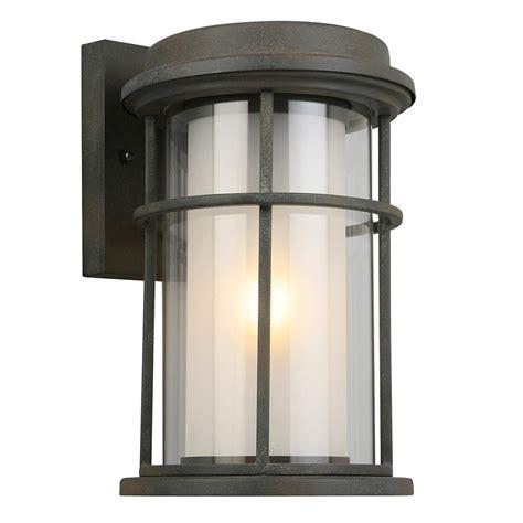 eglo helendale 1 light zinc outdoor wall lantern