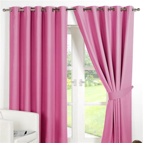 ring top fully lined pair eyelet ready  curtains