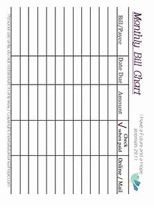 Online Printable Graph Paper Monthly Bill Chart Template Download Printable Pdf