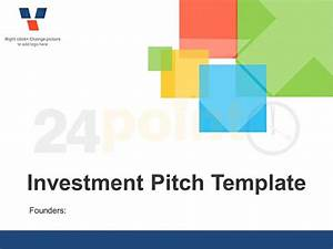 investor pitch deck template made in powerpoint 2010 With powerpoint pitch book template
