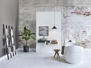 Abat Jour Salle De Bain : salle de bains naturelle nos id es d co marie claire ~ Melissatoandfro.com Idées de Décoration