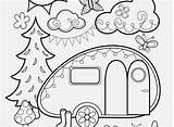 Coloring Camper Popular sketch template