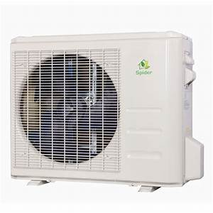 Manual On    Off 9000 Btu Ductless Air Conditioner  Sistem