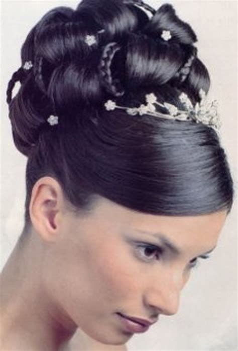 Updo Hairstyles For Black Wedding by Black Updo Hairstyles For Weddings