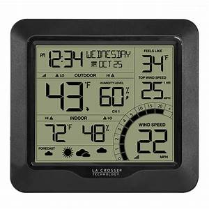 Wind Speed Weather Station With Sensor Backyard Home