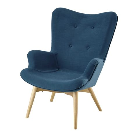 chambre couleur grise fauteuil vintage en tissu bleu pétrole iceberg maisons