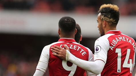 Aubameyang, Lacazette pairing offers hope for Arsenal ...