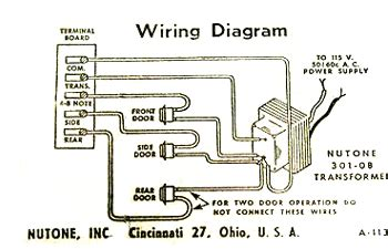 Diagram For Wiring Two Doorbell by 110v Wiring Diagram Circuit Schematic Learn
