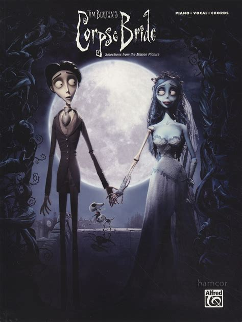 tim burton s corpse bride piano vocal chords sheet music