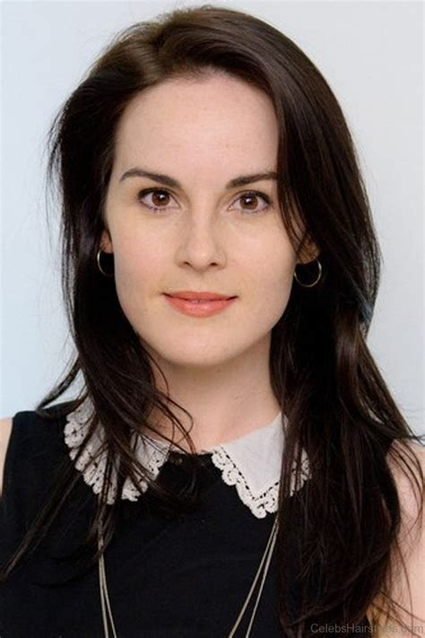 michelle dockery attractive hairstyle
