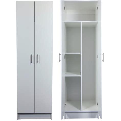 2 Door Laundry Cupboard by Bedford 2000 X 600 X 600mm 2 Door Hmr Split Cabinet