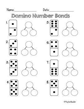 domino number bond math activity engage new york