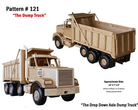 wooden truck plans patterns woodworking projects plans