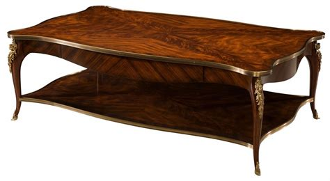 mahogany coffee table a brass mounted mahogany coffee table coffee tables 4899