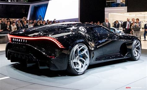 It is a coupe that feels. One-Off Bugatti 'La Voiture Noire' is Most Expensive New ...