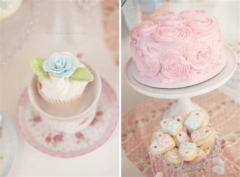 shabby chic themed kara s party ideas shabby chic pink girl tea party baby shower planning ideas