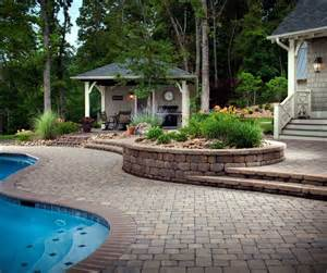belgard s best for creating a retaining wall outdoor