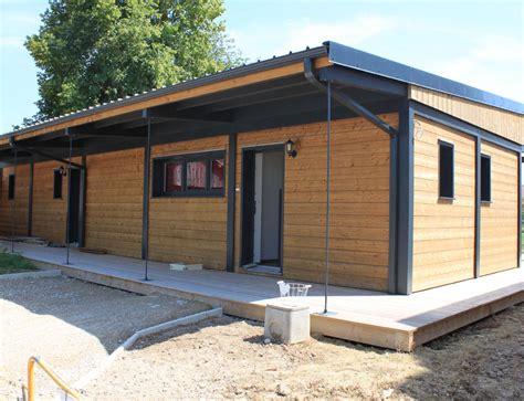 bureau ossature bois maison ossature bois plain pied toit plat 28 images