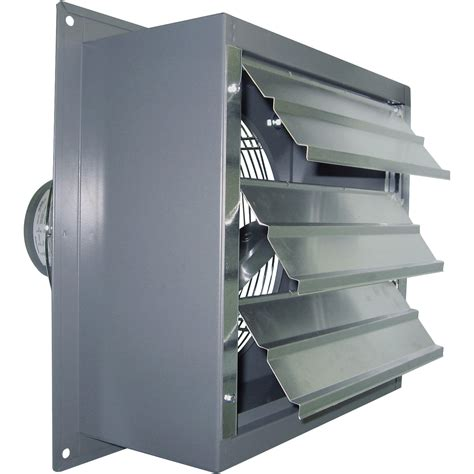 variable speed exhaust fan canarm wall exhaust fan 16in variable speed 1 3 hp