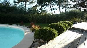 jardin paysager pour particulier et jardinage a bordeaux With amenagement d une piscine 1 rambaud paysages creations