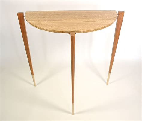 table ronde demi lune demi lune table pirollo designpirollo design