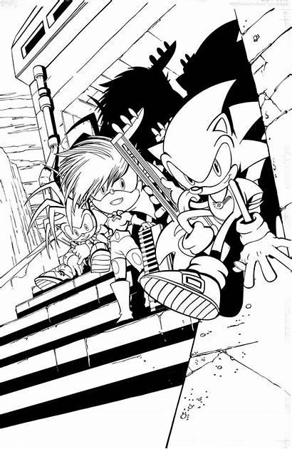 Sonic Underground Comic Form Adventure Comics Archie