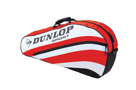 dunlop club  tennis racket thermo bag racquet padded shoulder strap luggage ebay